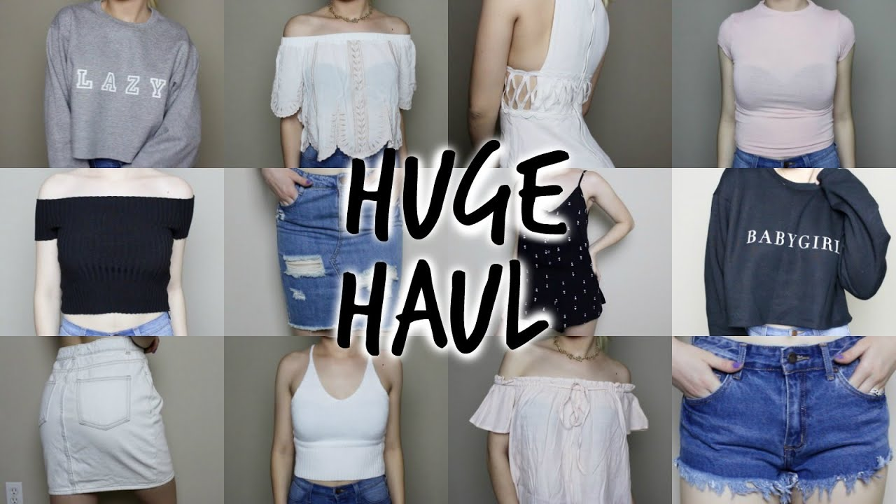 d3984c375 HUGE SUMMER TRY-ON HAUL - Forever 21