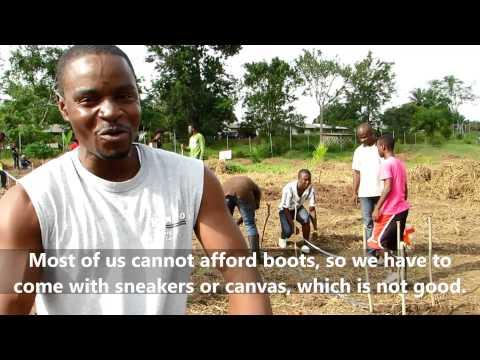 CIG in Liberia - with Dr. Festus Imarhiagbe  - 2015