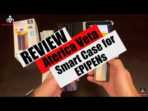 If You (Or Your Kid) Carry an EPIPEN, You MUST Get the Veta Smart Case – Review