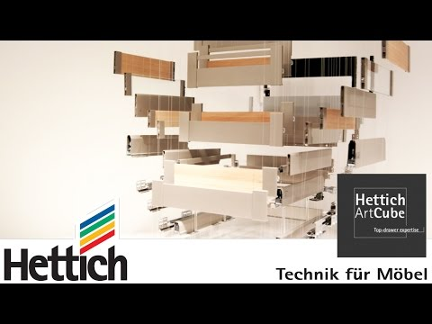 Hettich ArtCube: Top-drawer expertise presented at Interzum 2015 in Cologne