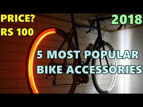 TOP 5 Most Popular Bicycle Accessories Available on Amazon & Flipkart in INDIA -2018