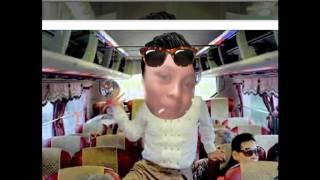 gangnam style con el chocorrol jajajajaja