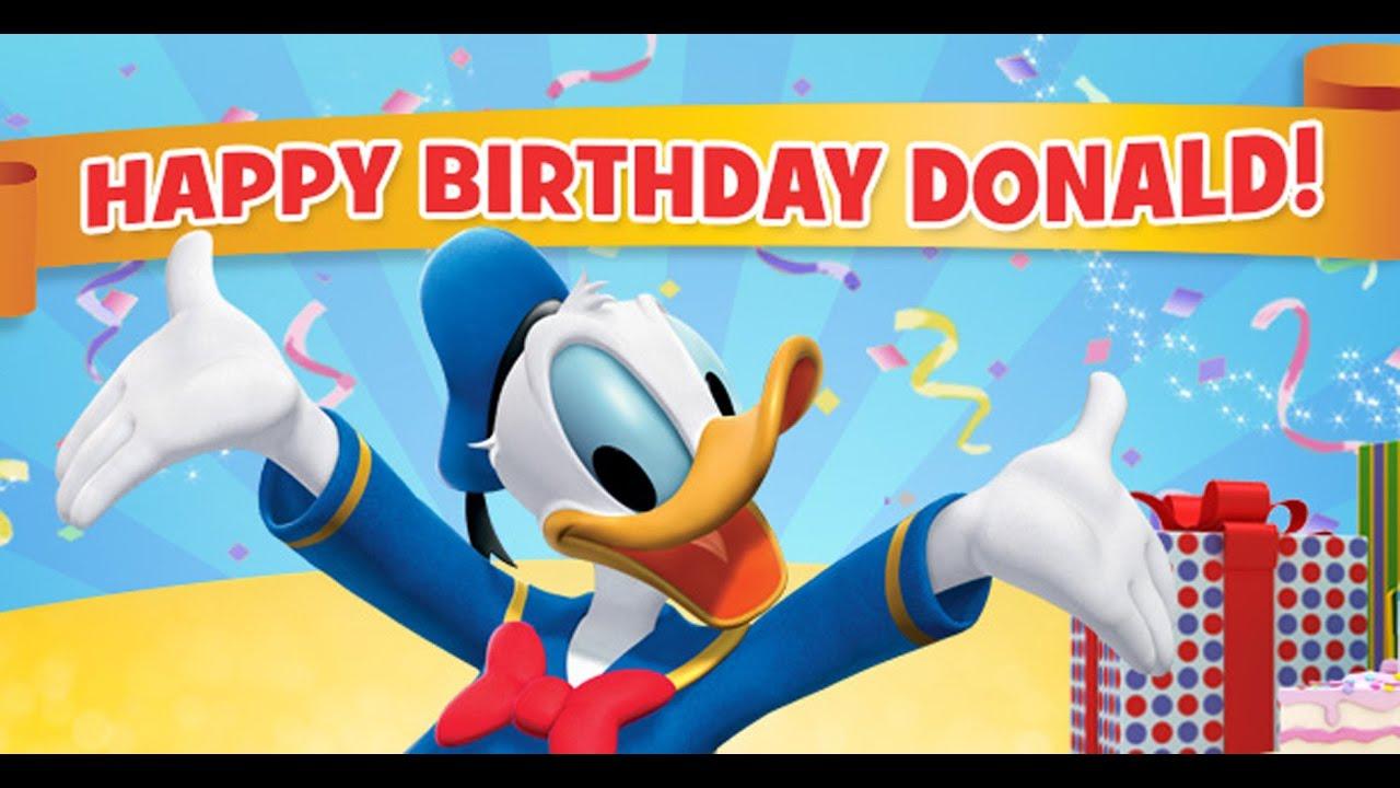 Großes Gewinnspiel Zum Geburtstag Von Donald Duck Disney Channel