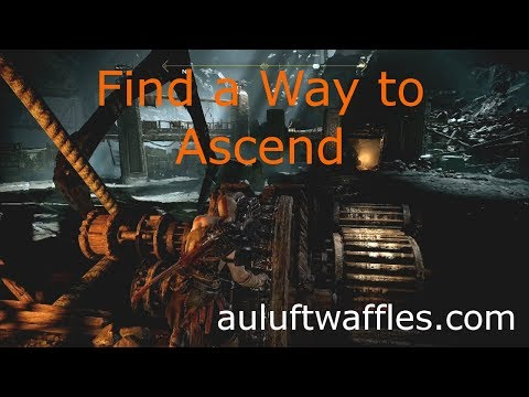 Find a Way to Ascend Inside the Mountain The Journey God of War