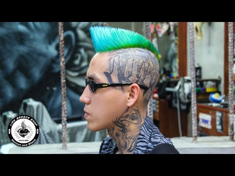 PSYCHOBILLY QUIFF BY LIEM BARBER SHOP
