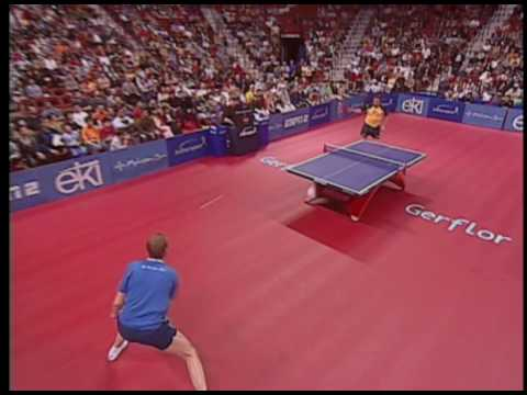 jan ove waldner table tennis rally loop timing