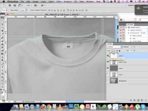 Обработка фотографии футболки для магазина Hochumaiky.ru