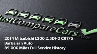 2014 Mitsubishi L200 2.5DI-D CR175 Barbarian Auto Review