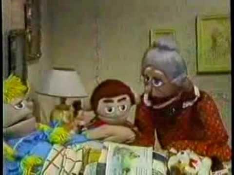 Grandmother Prays For Sick Puppet