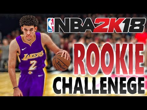 Can Lonzo Ball LEAD The All Rookie Team to the PLAYOFFS?!? NBA 2K18 Challenge Series Ep. 1