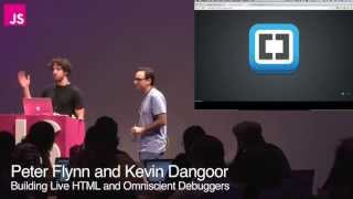 Peter Flynn and Kevin Dangoor: Building Live HTML and Omniscient Debuggers in Brackets Mp3