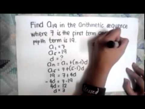 Arithmetic Sequence and Series with Harmonic Sequence