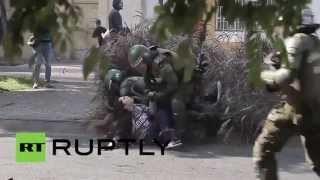 Chile: Violent clashes at education reform protest