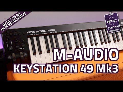 M-Audio Keystation 49 Mk3 USB MIDI Controller Keyboard - Review & Demo