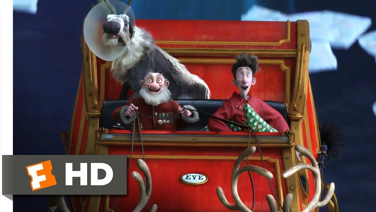 Arthur Christmas (4/10) Movie CLIP - Dash Away! (2011) HD - YouTube