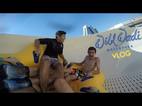 Wild Wadi Waterpark VLOG 2016