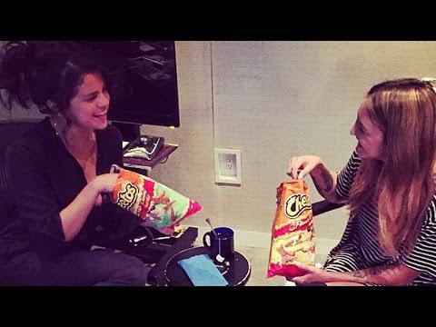 Selena Gomez Loves Cheetos?