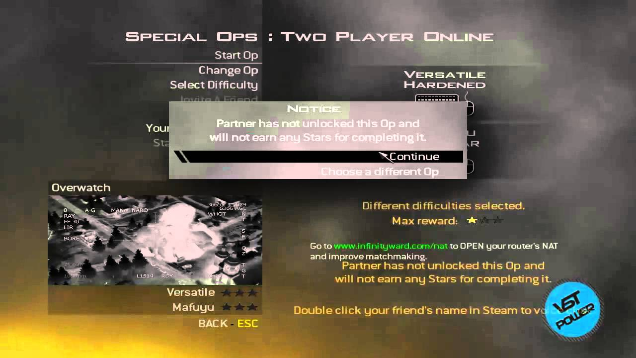 Modern warfare 2 matchmaking