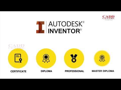 Autodesk Inventor Training Course, Autodesk Inventor