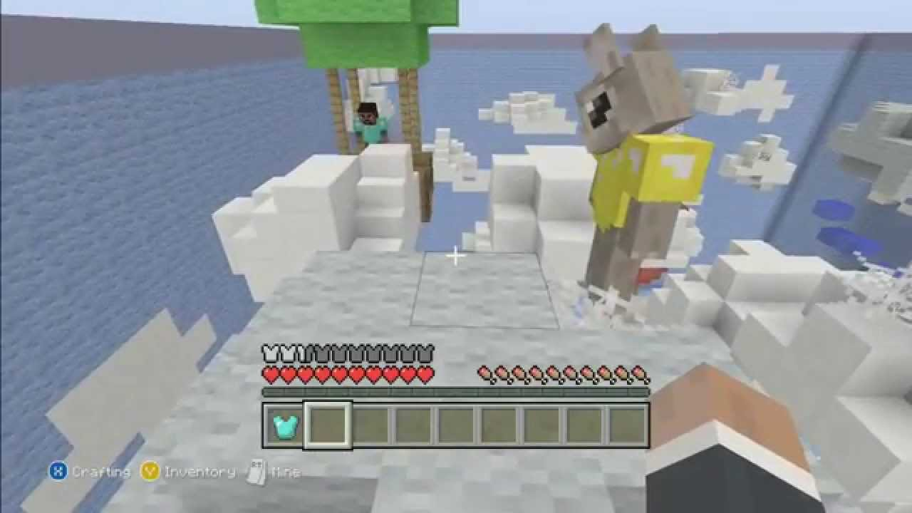 Minecraft Xbox Hide And Seek Sky