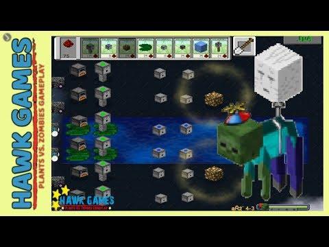 Plants vs. Zombies 1 Mod Minecraft - Fog 3 [Balloon Zombie] 🍩🍩🍩🍩