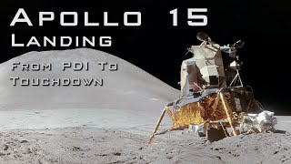 Download lagu Apollo 15 landing from PDI to Touchdown