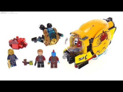 LEGO Marvel Guardians of the Galaxy vol. 2 Ayesha's Revenge review! 76080