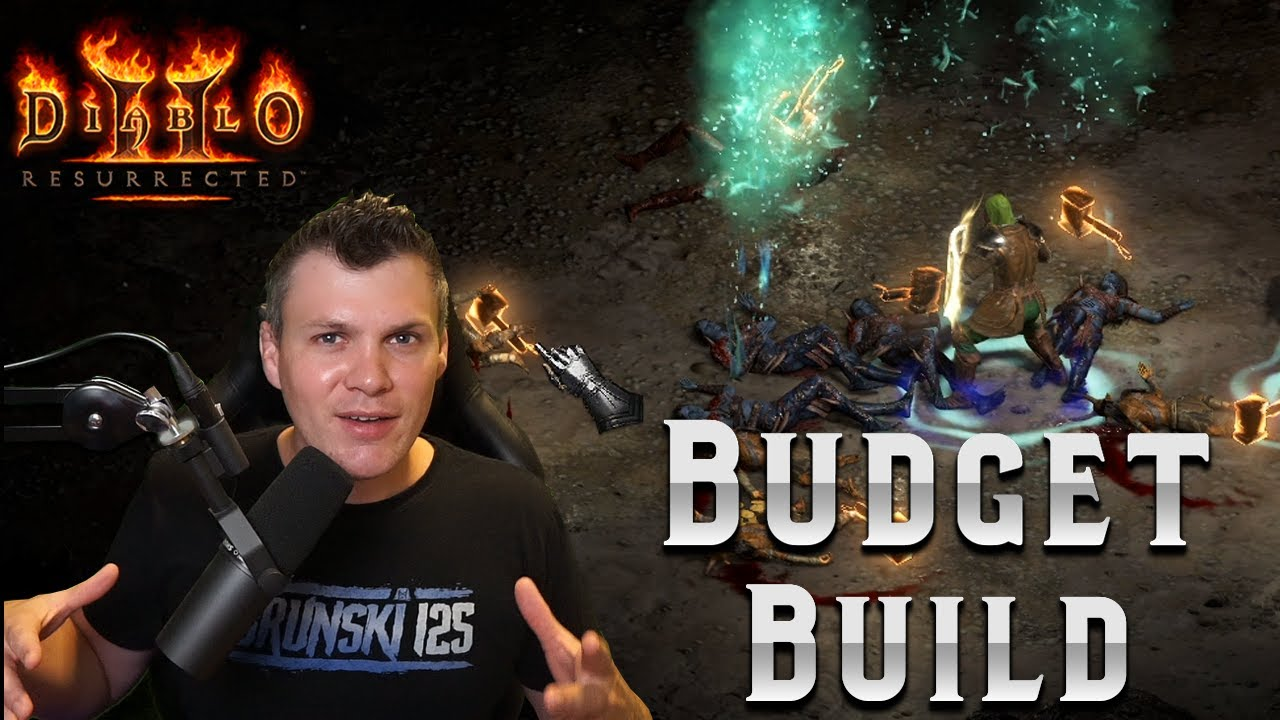 Download The SECOND BEST starter build that you can make in Diablo 2 Resurrected - Budget Guide