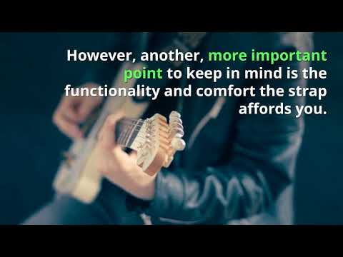 Best Guitar Straps For Acoustic & Electric Guitars