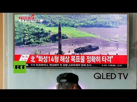 Rusia refuta que el misil de Corea del Norte fuera intercontinental