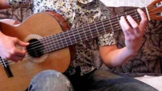 Обучение на гитаре. Половинка