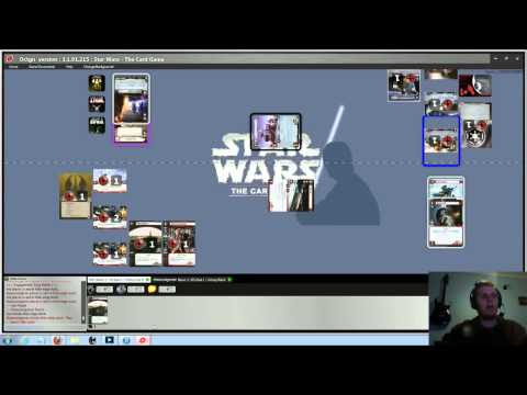 Star Wars: The Card Game LCG & Octgn Gaming Platform Version Tutorial.