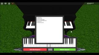 ROBLOX Piano- Somewhere Over the Rainbow (Wizard of Oz)