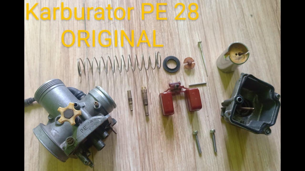 Karburator PE 28 original bawaan NSR - YouTube