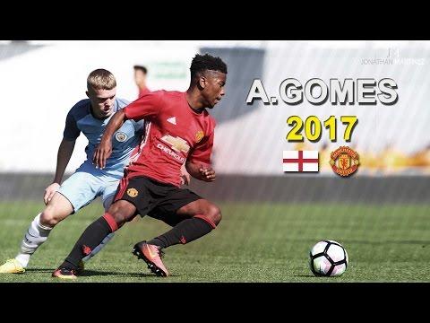 Angel Gomes ● Wonderkid   Skills, Goals & Passes 2017