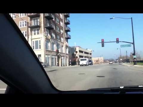 Driving Through Waukegan, Illinois