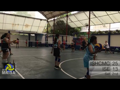 MRISA Junior Volleyball 2017 ISHCMC vs. ISE 11:30am (Girls) Outdoor Court