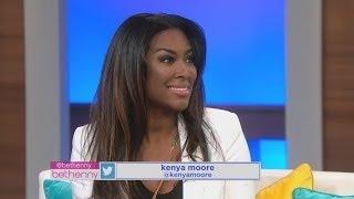 Kenya Moore Defends Texting Phaedra Parks' Husband