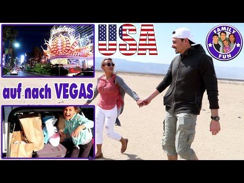 SHOPPING TOUR LAS VEGAS | CIHAN FÄHRT AUTO Vlog #79 FAMILY FUN ON TOUR