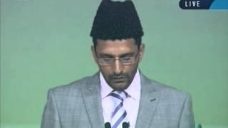 Tilawat Holy Quran at Jalsa Salana UK 2012, Sunday Morning Session, Islam Ahmadiyya