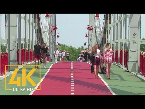 Kiev, Ukraine. Summertime in 4K 60fps - Around the World - Urban Life Documentary Film