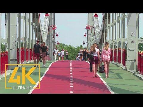 Kyiv, Ukraine. Summertime In 4K 60fps - Around The World - Urban Life Documentary Film