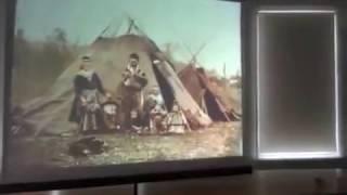 Рассказ Д  Витушкина о городах и картах Ингрии (на выставке ''Наша земля - Ингерманландия'').