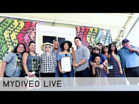 Celebrating the 25th Festival of Philippines Arts & Culture - mydiveo LIVE! on Myx TV