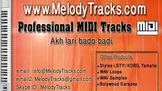 Gambar cover Akh lari bado badi MIDI - www.MelodyTracks.com