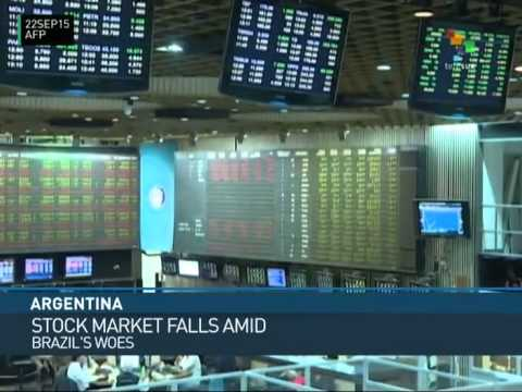 Argentina: Stock Market Reacts to Depreciation of Brazilian Currency