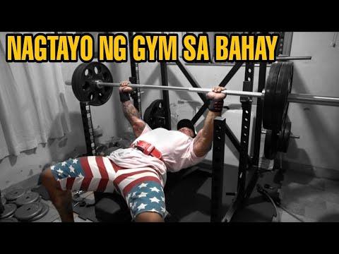 GYM At HOME SETUP (Philippines) | Vlog 29