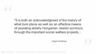 Edgar Bronfman Quotes