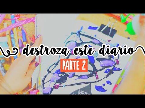 Destroza este diario (parte 2: Experimentación) ✎ Craftingeek