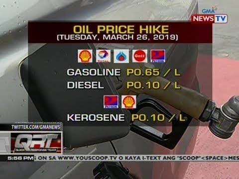 QRT: Oil price hike